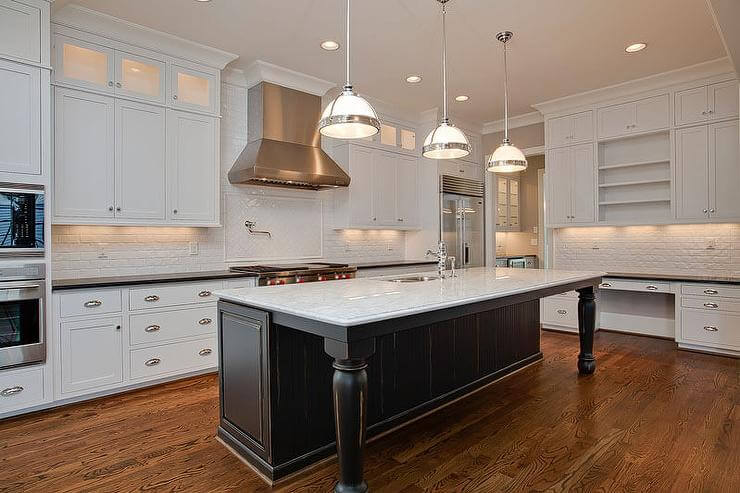 Have Only One Person Will Be Working In The Kitchen At A Time Walkway Clearance Between Countertops And Small Island Can Reduced To 31 5