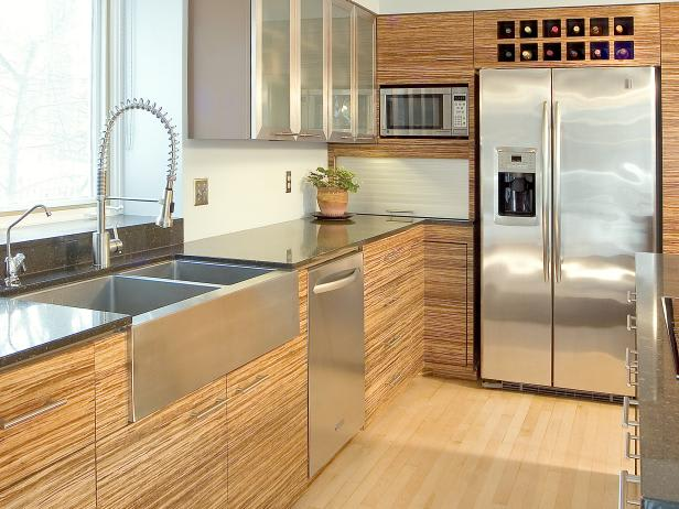 Bamboo-kitchen-cabinets