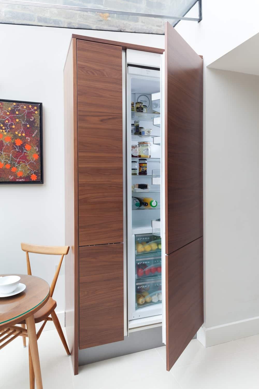 hidden fridge
