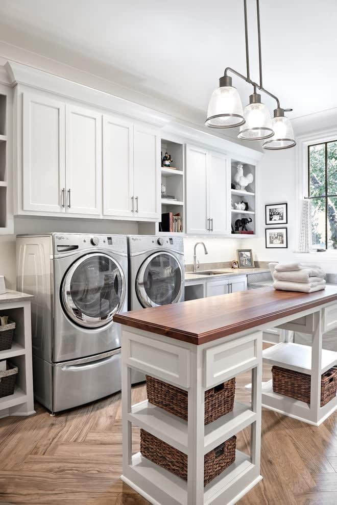 laundry room island