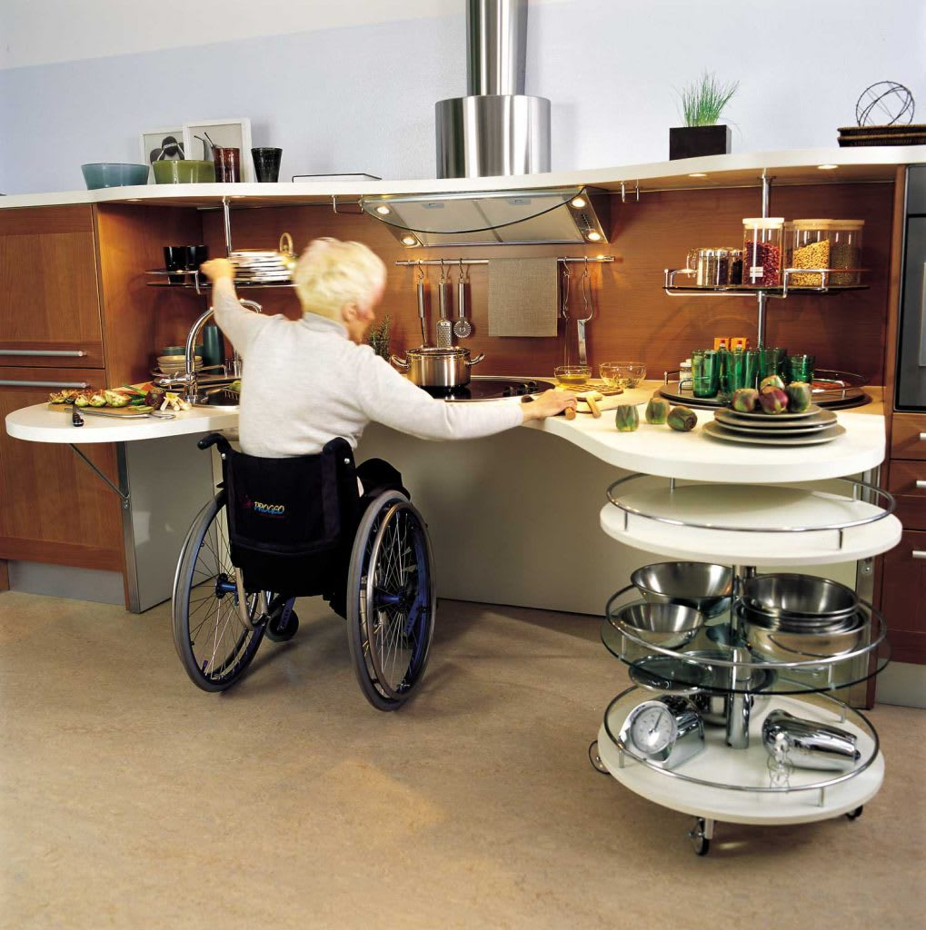 Designing A Wheelchair Accessible Kitchen