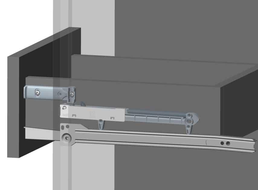 illustration-of-a-soft-close-drawer-hinge-system