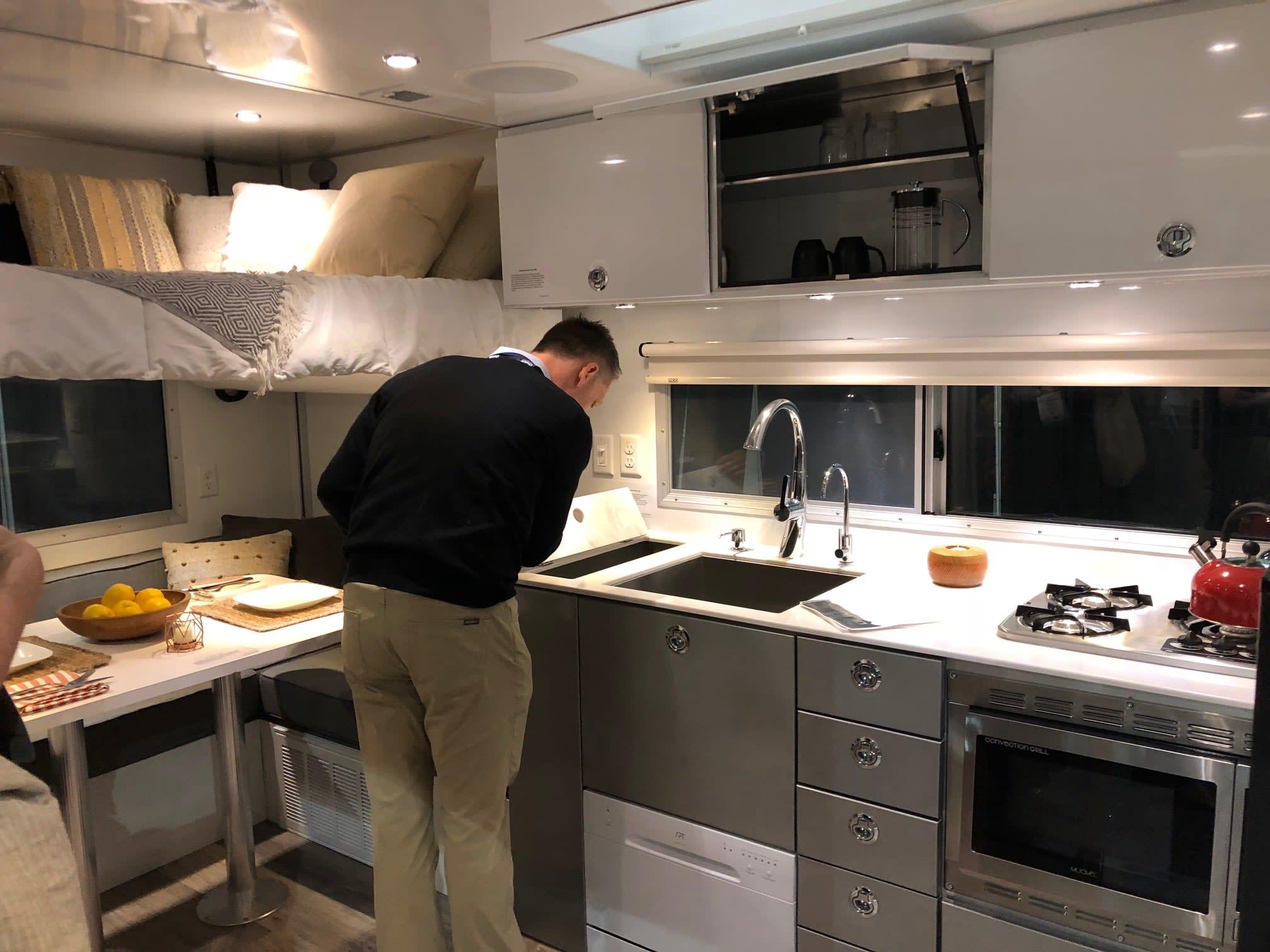 Living Vehicle Kitchen Dwell On Design 2018 Los