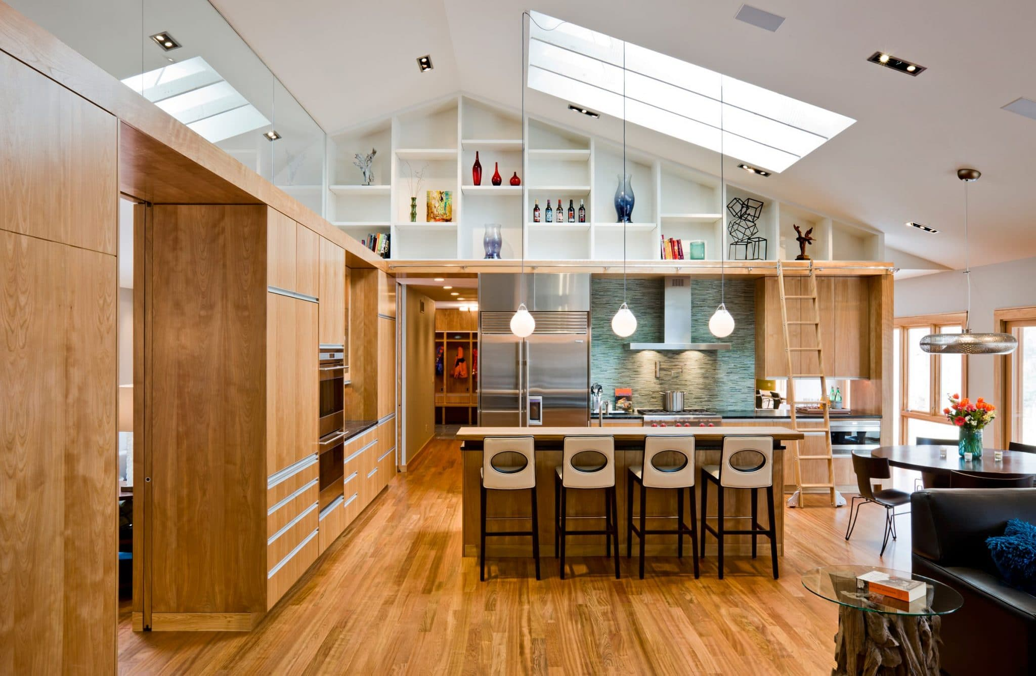 modern-kitchen-spacious-hardwood-cabinets