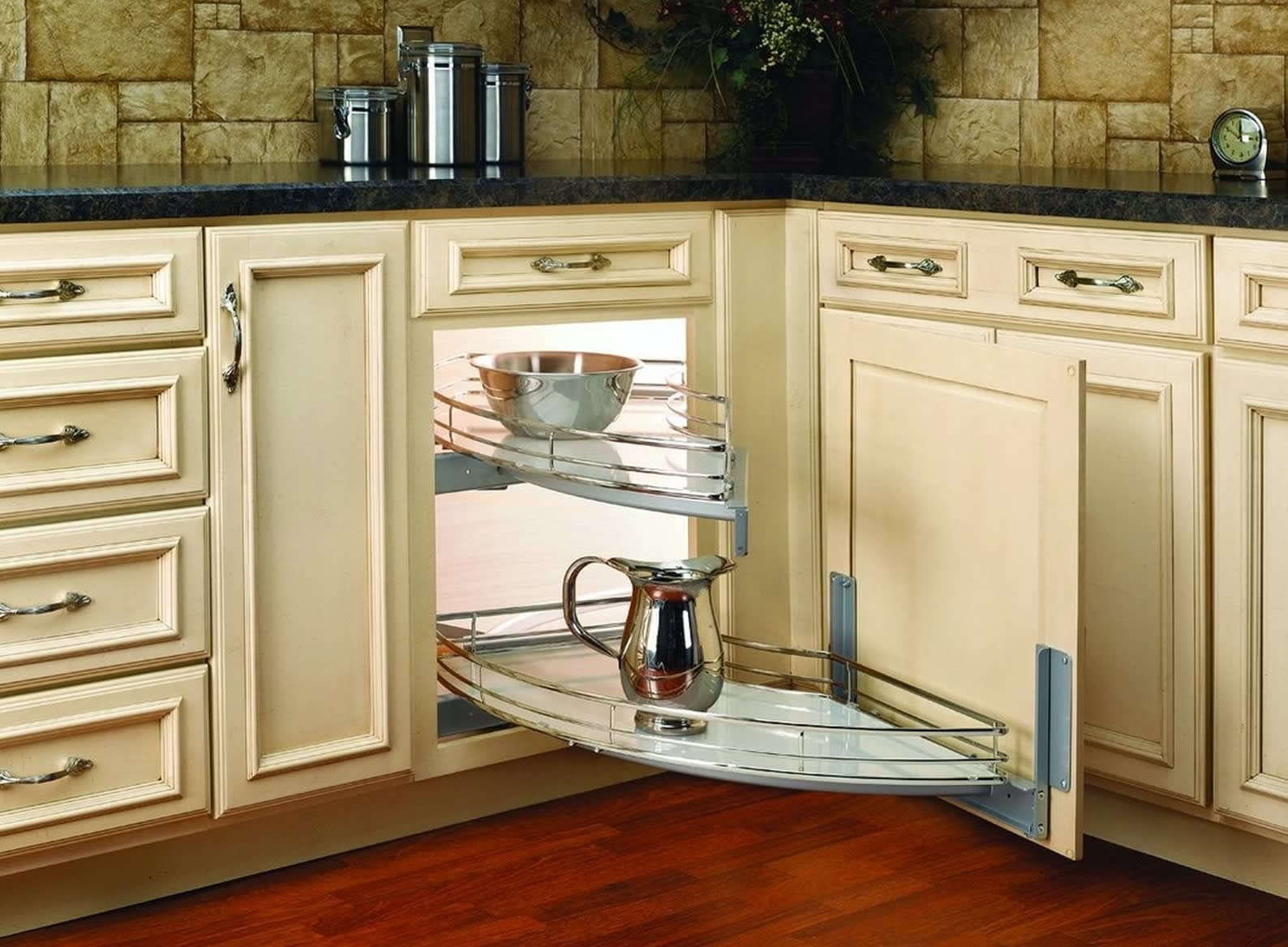 Coolest Kitchen Corner Cabinets