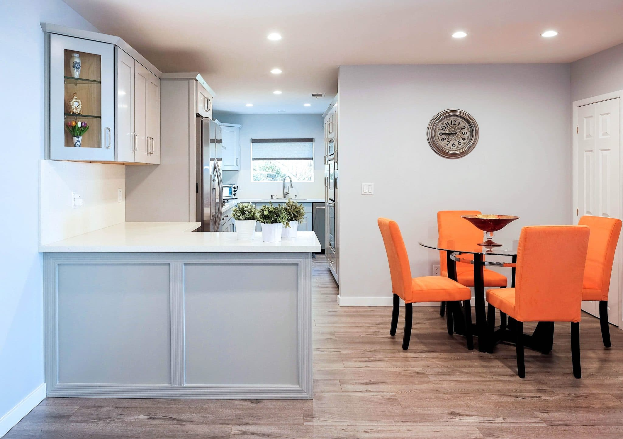 Warmth Amp Neutrality Combined Gray Kitchen Cabinets Best