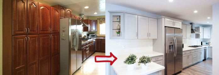 maple-cabinets-to-gray-shaker-cabinets-remodel