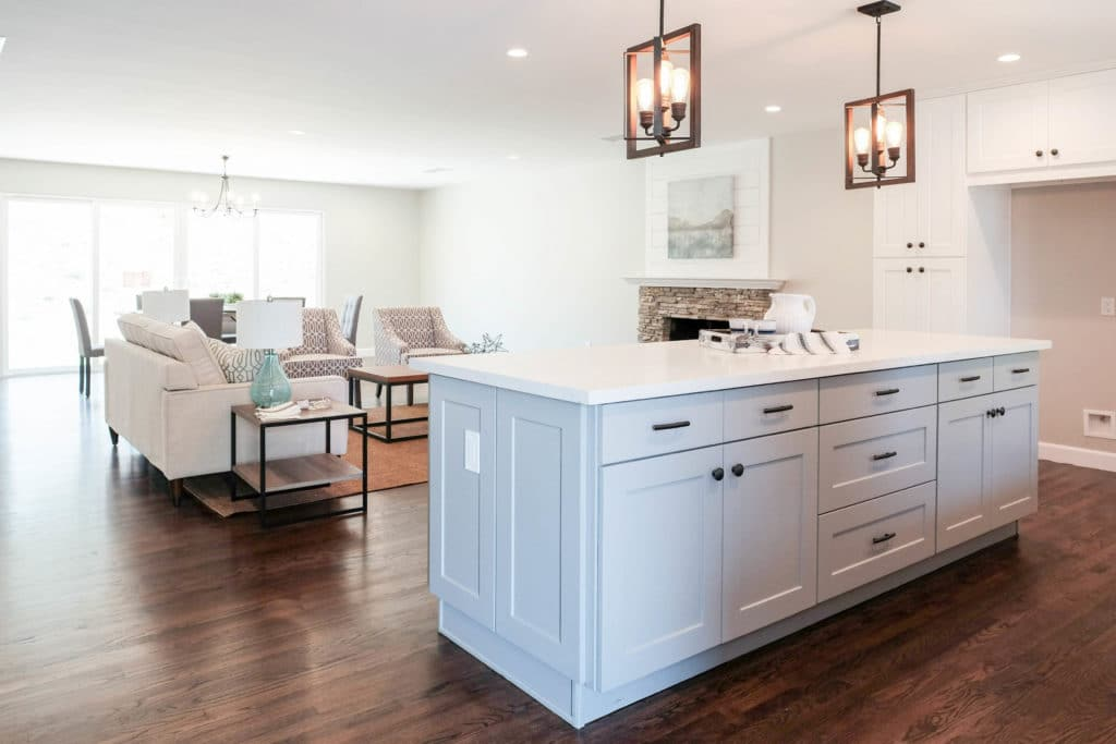 Best Online Cabinets Grey and White Shakers Real Kitchen Cabinets