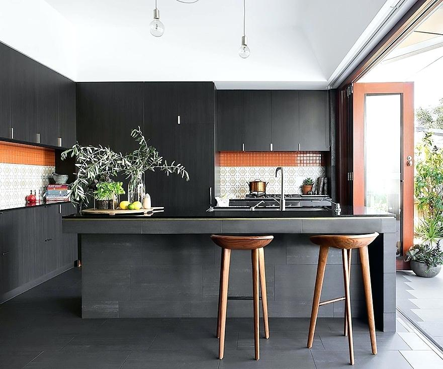 The Rise Of Black Kitchen Cabinets
