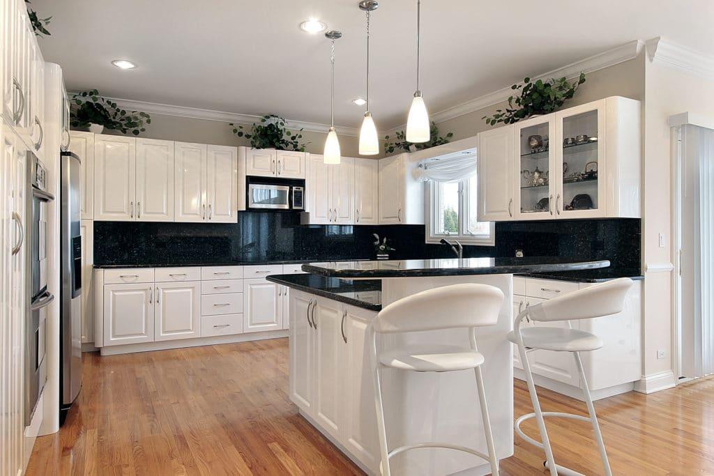 backsplash ideas for your white shaker kitchen  best