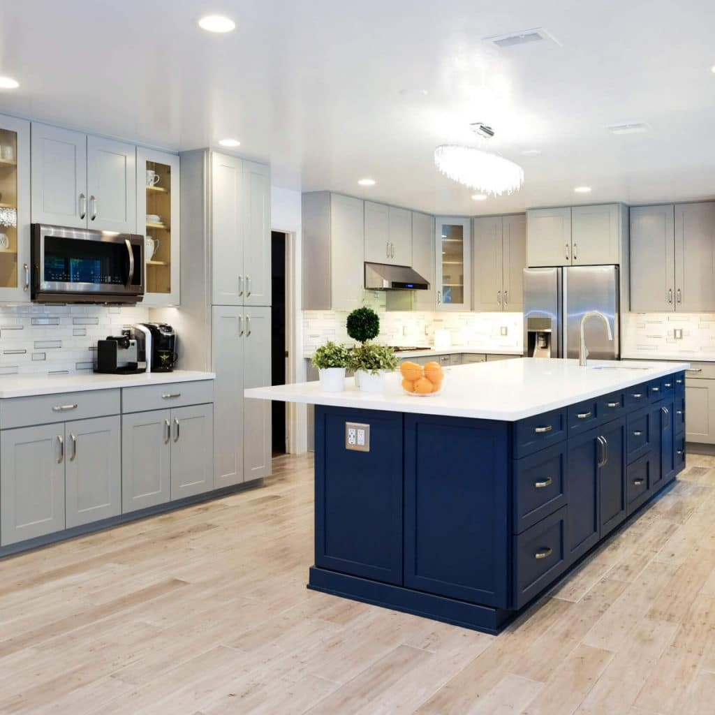 coastal kitchen design idea