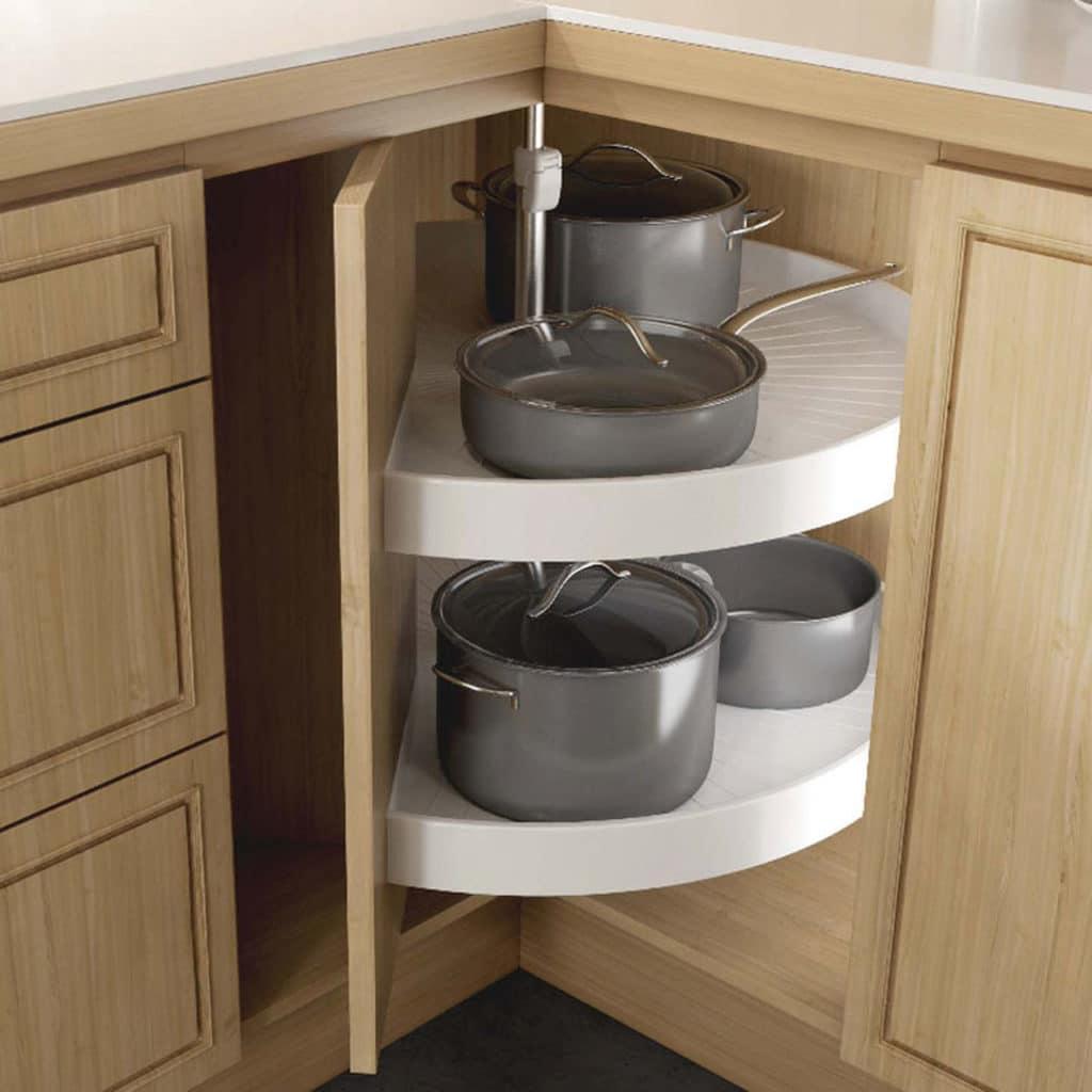 kitchen organization lazy susan