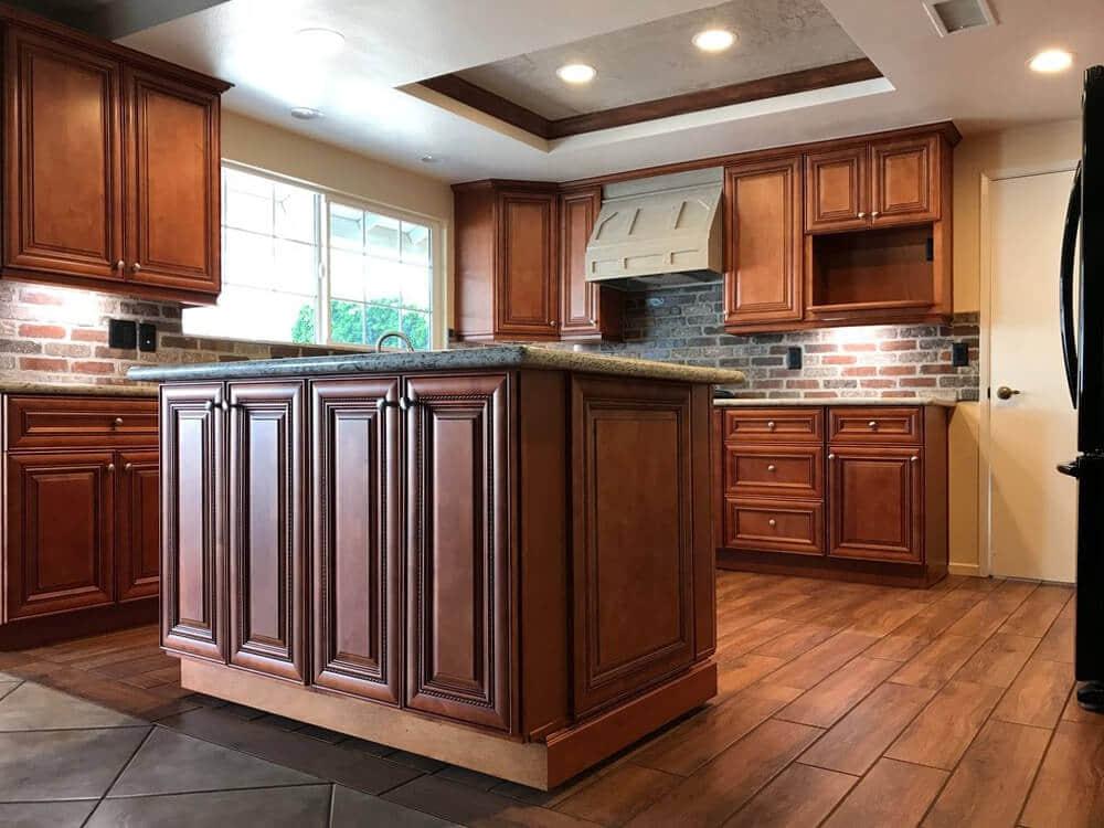 Café Mocha Rope Cabinets Best Ing, Mocha Color Kitchen Cabinets
