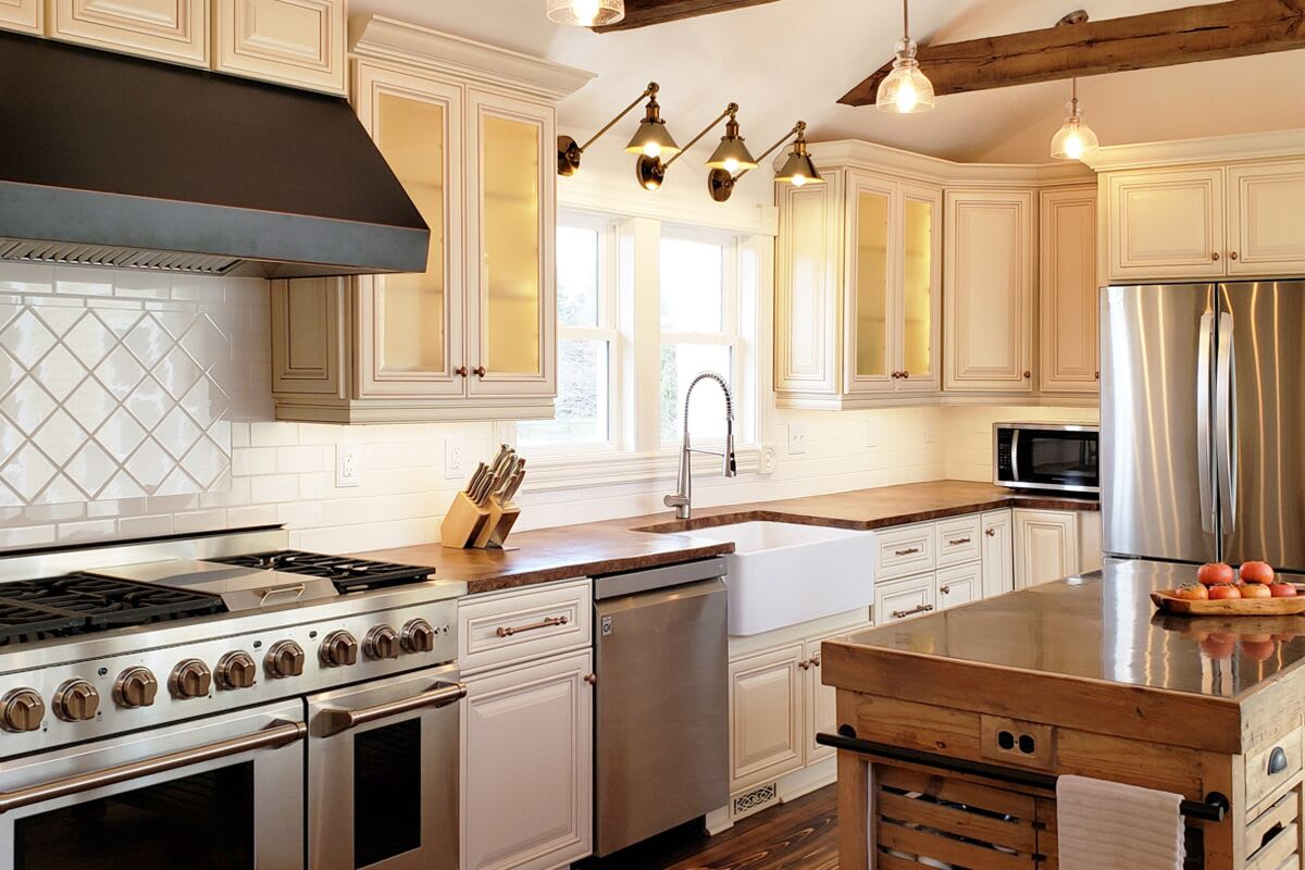 Ivory Antique White Cabinets Discounted Get A Free Design