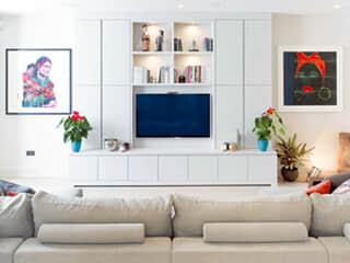Design Ideas - Euro TV Wall