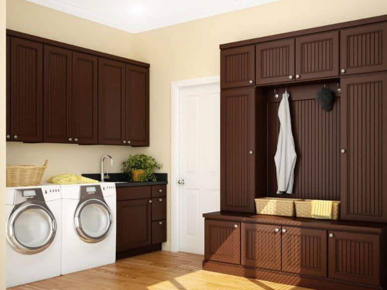 Design Idea - Mudroom with Laundry